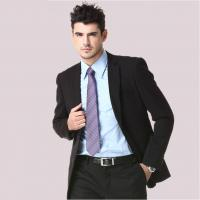 Wholesale Black Single Button mens formal wear fashion European court suits from china suppliers