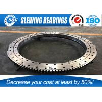 Quality ID400mm Single Row H8 Excavator Slewing Bearing For Engineering Machinery for sale
