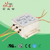 Wholesale 380V 3 Phase EMI Filter , Power AC Noise Filter With Terminal Block from china suppliers