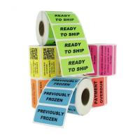Buy cheap Waterproof Personalized Business Labels / Custom Label Printing Freeze Resistant from wholesalers
