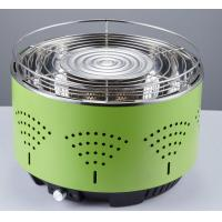 Wholesale Portable lotus round BBQ smokeless grill air control electronic fan quick heat barbecue charcoal grill from china suppliers