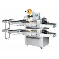 China Multi - Function Automatic Pillow Wrapping Packaging Machine For Food / Cup Cake / Bread on sale