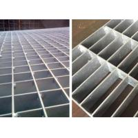 China Heavy Duty Steel Grating Plate Catwalk Hot Dipped Galvanized Surface Treatment on sale