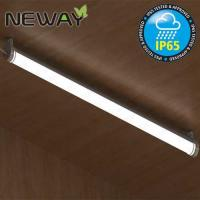 Wholesale 28W 40W 52W Contemporary IP65 Waterproof LED Tube Lights Surface Mount Linear LED Ceiling Light Fixtures 3000K 4000K from china suppliers