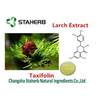Buy cheap Cas No 480-18-2 Larch Extract All Natural Extracts Taxifolin 80%-98% Purity from wholesalers