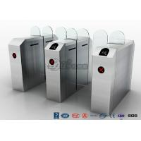 Buy cheap Fastlane Turnstile Remote Control Access Control Turnstiles Tempered Glass Sliding from Wholesalers