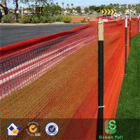 Buy cheap Orange Round wire Safety Netting/Safety mesh for warning on road from Wholesalers