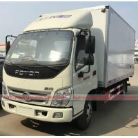 Wholesale Foton Refrigerator Van Truck, Foton 5Tons Van Truck for meat fruit vegetable for sales from china suppliers