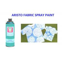 Alcohol Based Non - fading T Shirt Spray Paint Pink Blue Green Red Textile Painting Spray