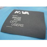 Flat Style Colorful Clothing Brand Labels , Cute Fabric Name Labels For Clothing