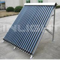 China Heat Pipe Solar Collector With Aluminum Alloy Bracket For Flat Roof on sale