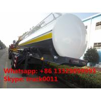 Buy cheap BPW 2 axles 35,000L fuel tank trailer for sale, hot sale CLW brand 2 axles 35 cubic meters oil tank semitrailer from Wholesalers