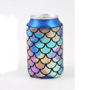China Neoprene Beer Bottle Cooler Bag , Customized Logo Printed Beer Bottle Covers on sale