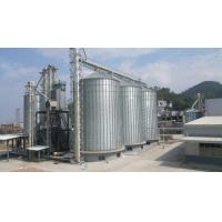Wholesale ISO9001 Grain Storage Silo , Steel Silo To Store Grain White Rion from china suppliers
