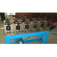 China 3 Phases Round Downspout Welded Pipe Roll Forming Machine With PLC Control on sale