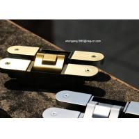 Wholesale 3D Adjustable Concealed Cabinet Door Hinges 180 Degree Hinges 160*28*32mm from china suppliers