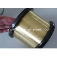 Wholesale 0.25mm edm brass wire stright brass wire for CNC machine China AVIC Bashan factory from china suppliers