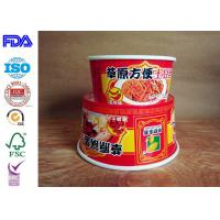 Wholesale Take Away Paper Salad Bowls , Kraft Paper Food Containers Match With Lid from china suppliers