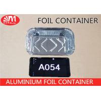 Wholesale A054 Aluminium Foil Packaging Container 17.5cm x 11cm x 4cm Size 410ml volume from china suppliers