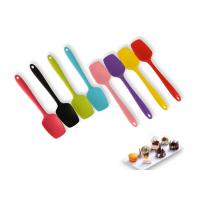 Buy cheap FDA / LFGB Standard Silicone Scraper Spatula BPA Free Remarkable Heat - Resistance from wholesalers