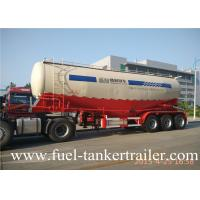 Cement powder transport Bulk cement transport truck with Double line air brakes