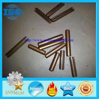 China Slotted spring pins,spring pins,grooved spring pins,split spring pins,stainless steel slotted pins,Copper spring pin on sale