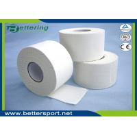 Buy cheap 3.8cm White colour Latex free zinc oxide athletic Rigid Rayon Tape Porous Sports strapping Taping from wholesalers