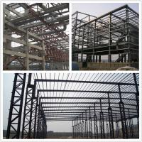 Wholesale Prefab light large warehouse steel structure building construction from china suppliers