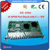 16 PON Ports GPON Board Card GTGH with Class C+/C++ GPON SFP Module Suitable for C320/C300