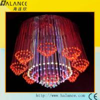 Wholesale Builing hotel culb Hot New interior led light source fiber optics chandelier(OFC-017) from china suppliers