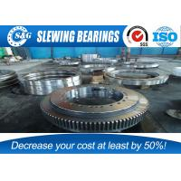 Wholesale Whole Quench Hardening Crane Slew Bearing , Anti Friction  Turntable Ball Bearing from china suppliers
