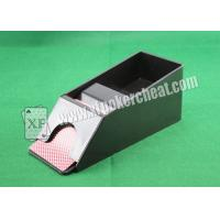 Buy cheap Small Dealing Shoe Casino Cheating Devices With Infrared Camera from Wholesalers