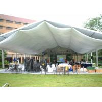 Clear Span 100 - 200 People Outdoor Event Tent Movable Aluminum Frame Material