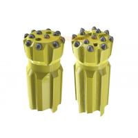 Buy cheap T45 Retractable Drill Bit with Parabolic / Spherical Buttons for Mining from wholesalers
