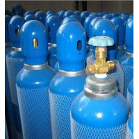 Wholesale En 1964 - 1 Std Seamless Steel Gas Cylinders Industrial Oxygen Gas Cylinder GB5099 / ISO9809 40L 150bar / 250bar from china suppliers