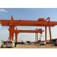 Wholesale Double Girder Rail Mounted Cranes Electric Gantry Type With Trolley 3 Phase 380V from china suppliers