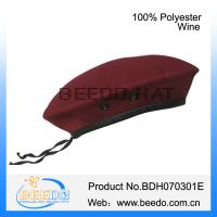 China 100% polyester british army berets colours for sale on sale