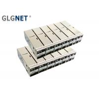 Buy cheap 100G Ethernet Sfp Cage Connector 2x6 Stacked Quad Small Form - Factor Pluggable from wholesalers