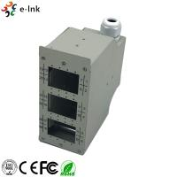 Wholesale Industrial DIN - Rail Fiber Patch Panel 24 Ports Harsh Environment Application from china suppliers