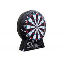 Wholesale Giant Inflatable Soccer Dart Board With Stand Made With Pvc Tarpaulin Material from china suppliers