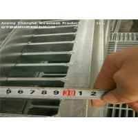 Wholesale 100 X 10 Duty Industrial Floor Grates Ramps Docks Non - Slip Stress Resistance from china suppliers