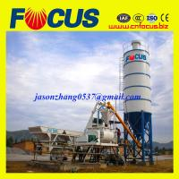 China HZS35 low cost concrete batching plants manufacturer on sale