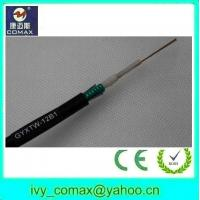 light weight aerial fiber optic cable/optical cable GYXTW for outdoor