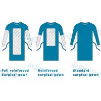 Wholesale Delta Medi Disposable Surgeon Gown , Reinforcement Protective Disposable Operating Gowns from china suppliers