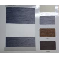 China blackout zebra blinds fabric dual sheer shades roller shade on sale