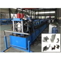China Automatic Door Frame Roll Forming Machine , Steel Door Frame Manufacturing Machines on sale