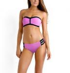 Wholesale 2015 SEXY Women Lady Bikini Push-up Swimsuit Bathing RETRO Swimwear high cut bandage swimsuit sexy bikini set from china suppliers