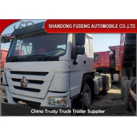 Buy cheap Manual 371HP 6X4 Wheel Drive Used Tractor Head Trucks from wholesalers