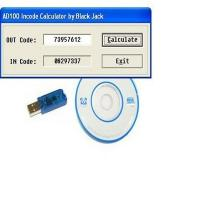 China Brand new Incode / Outcode Calculator for AD100 T300 SBB MVP on sale