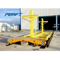 Buy cheap 9 Ton Cable Reel Power Motorized Transfer Trolley For Machaine Parts Handling from wholesalers